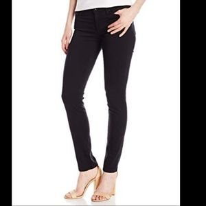 "AG ""Stilt"" Velvet Skinny pants in charcoal 27"